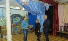 М.П. Леонтьев помог театру «Зазеркалье» г. Серпухов (19.01.2015)