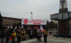 Подольские коммунисты отметили 100-летие Великой Октябрьской Социалистической революции (06.11.2017)