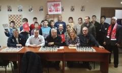 В Серпухове прошел шахматный турнир, посвящённый 100-летию Великого Октября (12.11.2017)