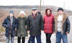 Голодовка против мусорного полигона в Серпухове (01.12.2017)
