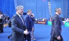 Кандидат в Президенты РФ от КПРФ и Народно-патриотических сил России Павел Грудинин встретился с жителями города Серпухова и Серпуховского района (23.01.2018)