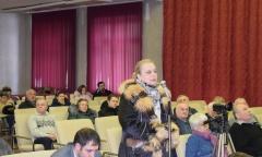 Встреча в Серпуховском районе и городе Пущино (25.02.2018)