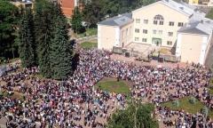 Митинг против свалки в Куровское (26.05.2018)