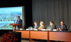 В.В. Федоров принял участие в слушаниях ежегодного отчета Главы городского округа Дубна (26.02.2015)