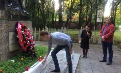 22 июня в 4 часа утра королёвские коммунисты провели V-й реквием-поход «ПОМНИМ» (22.06.2018)