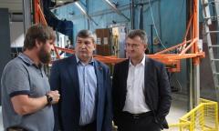 Кандидат в Губернаторы Подмосковья от КПРФ К.Н. Черемисов посетил предприятие «Тритон» (13.07.2018)
