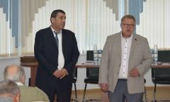Александр Наумов поздравил коллектив «Гюнай» с Днём строителя (14.08.2018)