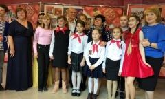 Пионеры из города Подольска Московской области благодарят организаторов конкурса «Земля талантов» (23.09.2018)