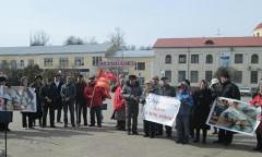 Митинг в Волоколамске (29.03.2015)