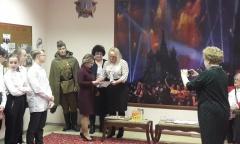 Елена Мокринская поздравила победителей конкурса творческих работ «Славная юность моей фамилии» (22.11.2018)
