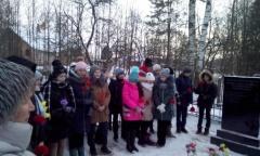 В Лотошино и Шаховской почтили память Советских солдат (16.01.2019)