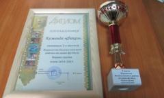Волоколамск: Команда «Факел» стала призером чемпионата по мини-футболу (06.04.2015)
