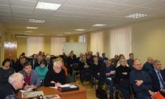 Состоялось совещание первых секретарей городских и районных партийных организаций (09.02.2019)
