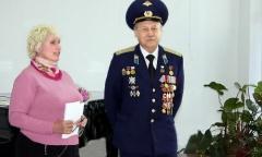 Выставка коллекции космических значков «Достижения отечественной космонавтики» в Орехово-Зуево (10.04.2015)