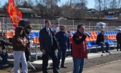 Ежегодный комсомольский футбольный турнир посвященный Дню космонавтики (11.04.2015)