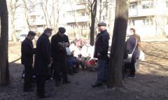 Сергиево-Посадские коммунисты провели ряд встреч с жителями города Сергиева Посада и поселка Реммаш (11.04.2015)