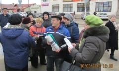 В Можайске прошли пикеты в защиту прав граждан (30.03.2019)