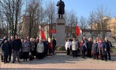 День рождения В.И. Ленина в Реутове (22.04.2019)