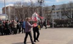 В Подольске отметили 145-ю годовщину со Дня рождения В.И. Ленина (22.04.2015)