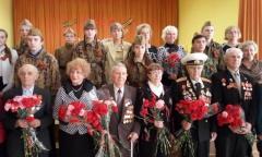 Орехово-Зуево: Встреча ветеранов ВОВ со школьниками (05.05.2015)