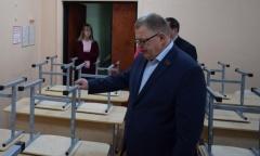 Депутат Александр Наумов посетил школу г.о. Каширы (05.11.2019)