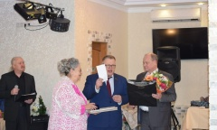 Александр Наумов поздравил Женсовет «Добродея» с Юбилеем (18.11.2019)