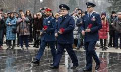 Торжественная встреча космонавтов в Звездном городке! (04.12.2019)
