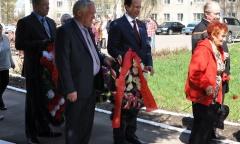 Виталий Федоров поздравил ветеранов Талдомского района и города Дубны с Днем Победы (08.05.2015)