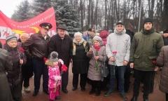 В Клину почтили память о подвиге Советских солдат (15.12.2019)