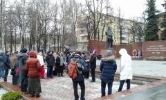 Встреча с избирателями в Звенигороде (14.12.2019)