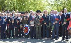 Митинг памяти и скорби на Соборной горе в Серпухове (08.05.2015)