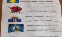 В Клину прошёл мужской турнир по волейболу (29.12.2019)