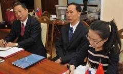 Константин Черемисов встретился с делегацией провинции Хэйлунцзян (КНР) (11.05.2015)