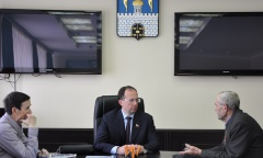 Сергиев Посад. Виталий Федоров всегда готов выслушать и оказать содействие (25.05.2015)