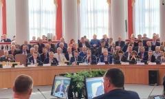 Дмитровские коммунисты приняли участие в международном экономическом форуме (14.03.2020)