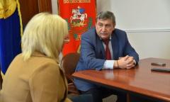 Константин Черемисов посетил с рабочей поездкой г.о. Лотошино (23.03.2020)