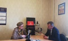 19 марта традиционную встречу с фрязинцами провёл депутат Мособлдумы Василий Мельников (19.03.2020)