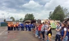 Экологическая акция «Чистые берега» в Жостово (04.06.2015)