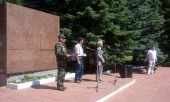 Митинг в Шеметово – память о подвиге народа-победителя (24.06.2015)