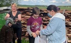 Домодедовские коммунисты продолжают помогать нуждающимся (20.05.2020)