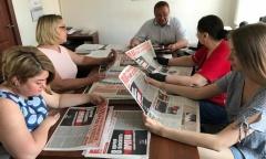Домодедовские коммунисты продолжают работать (17.06.2020)
