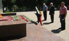 Можайские коммунисты почтили память о воинах (22.06.2020)
