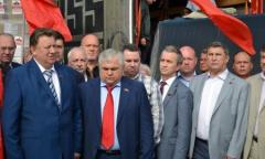 Отправка 39-го гуманитарного конвоя в Новороссию (22.07.2015)