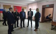 Второй секретарь МК КПРФ Константин Черемисов проконтролировал ход выборов в Балашихе (13.09.2020)