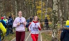 Первый триатлон в Лобне (04.11.2020)