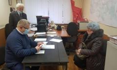 Депутат-коммунист Александр Наумов провёл приём граждан в Ленинском г.о. (17.11.2020)