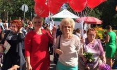 Подарки от КПРФ к юбилею Щелково (17.08.2015)