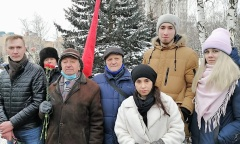 В Королёве открыт памятник В.Г. Грабину (12.01.2021)