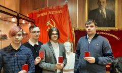 В Жуковском восстановили комсомольскую организацию (18.01.2021)