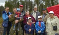 Балашихинские коммунисты посадили свой лес! (12.09.2015)
